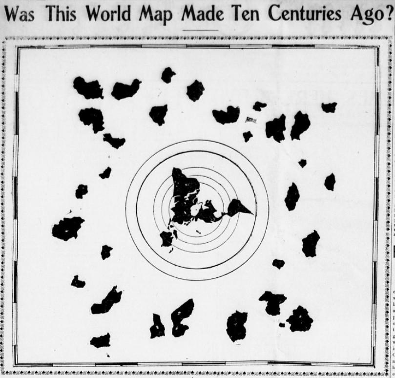 Nagyobb teljesebb lapos föld térkép