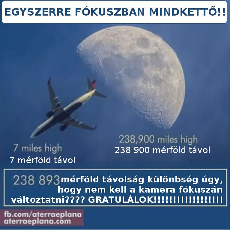 az igazság a hold valódi távolságáról