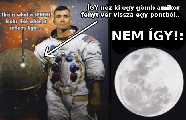 az igazság a holdról