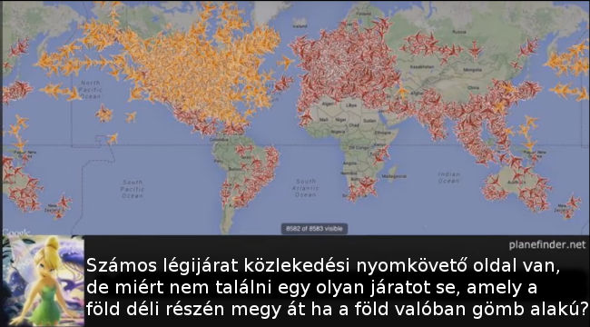 lapos Föld bizonyítékok