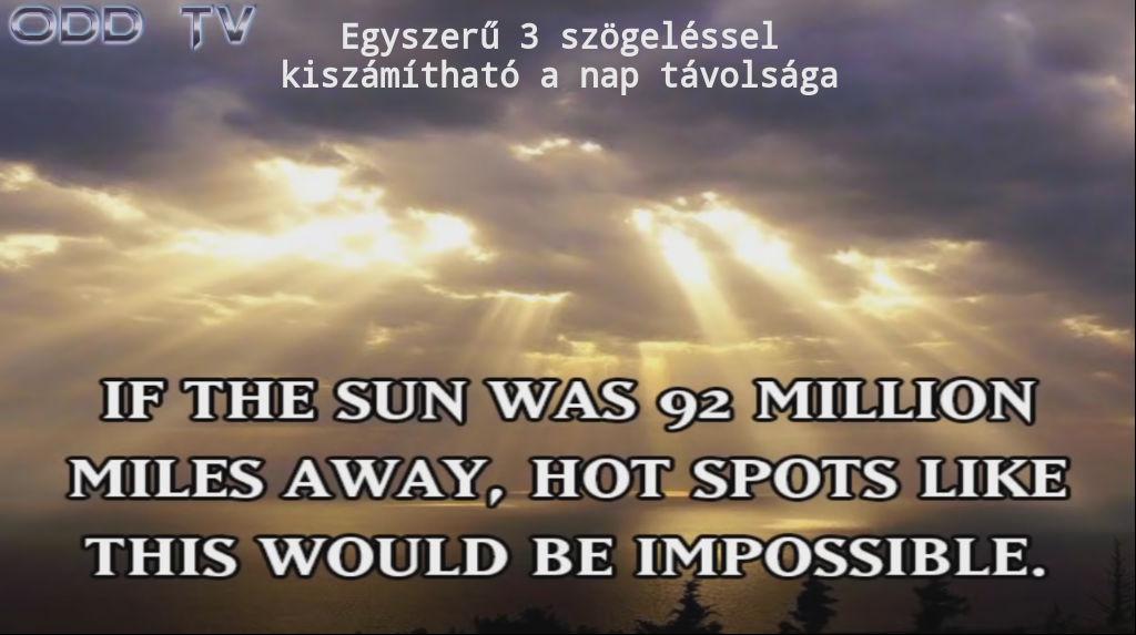 Mi az igazság a Napról?