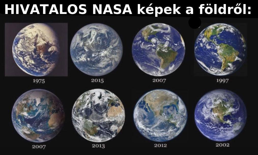 A föld igazi alakja?