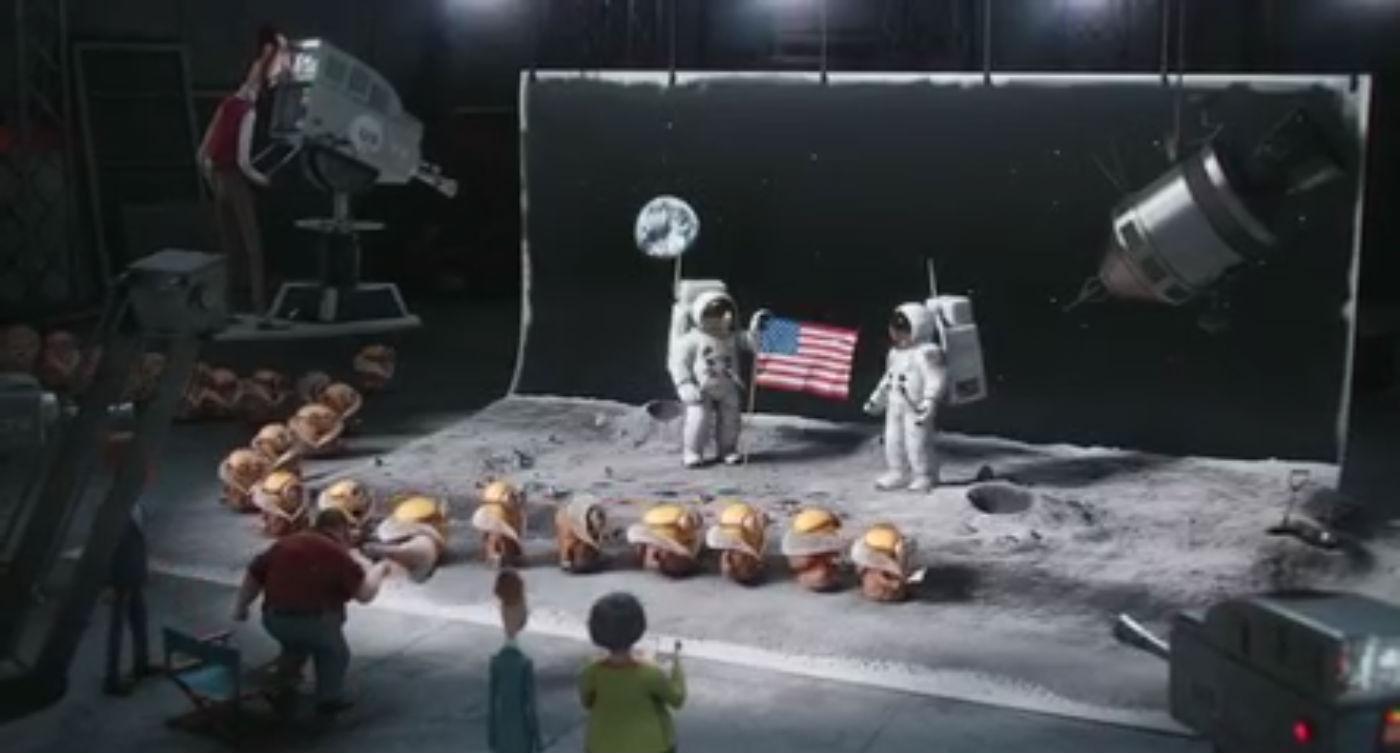 NASA hoax kamu hazugság filmekben gru minyonok