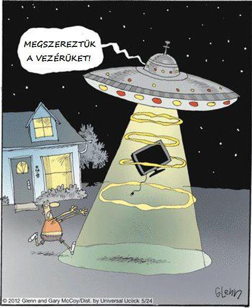 őrült ufo-k